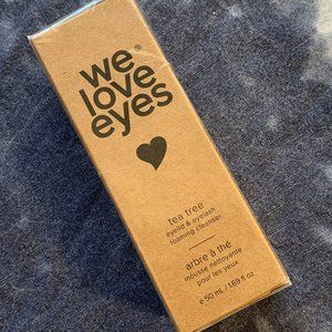 We Love Eyes Tea Tree Eyelid Foaming Cleanser NWT